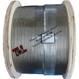 Câble métallique de l'acier inoxydable 7X19 d'AISI 316