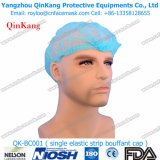 Casquillo Bouffant disponible/casquillo de la enfermera/casquillo no tejido/casquillo/toca del clip