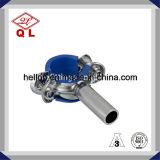 304 o 316 Sanitaria de acero inoxidable tubo de soporte de montaje