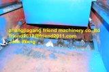 Máquina de goma de madera plástica inútil de la desfibradora