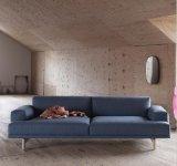 Tela moderna Sofa-Hc159 da sala de visitas da mobília Home