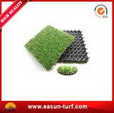 中国の工場DIY人工的な草の連結のタイル