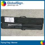 Bandiere su ordinazione della bandierina della piuma stampate sublimazione esterna della tintura di evento