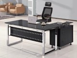 زجاجيّة علبيّة [إإكسيوكتيف] مكتب طاولة [هوم وفّيس فورنيتثر] ([هإكس-غل008])