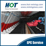 Tecnologia carbonosa Longwall subterrânea
