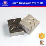 Segment de bonne qualité de diamant pour le granit 1800mm de découpage