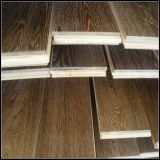 Ahumado y cepillado negro engrasado roble Engineered Wood Flooring