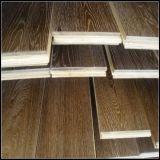 Fumé et brossé blanc huilé Chêne Wood Flooring