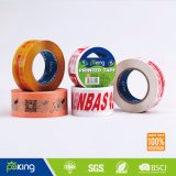 BOPP crean la cinta impresa insignia del embalaje para requisitos particulares (P050)