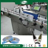 Machine à étiquettes automatique de bouteille ronde pour la bouteille cosmétique