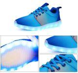 جديدة لون تصميم عرضيّ يبرق أحذية رياضة رجال أحذية خداع حارّ