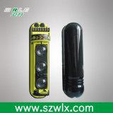Sensor de movimiento infrarrojo activo de la viga del IR del intruso al aire libre triple