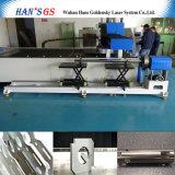 Tagliatrice del laser della fibra del tubo del acciaio al carbonio dell'acciaio inossidabile del laser da vendere