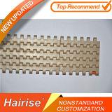Hairiseの拡張可能なプラスチックモジュラーチェーンコンベヤ2000のモジュラーベルト