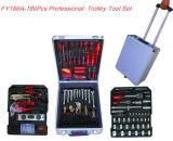 De professionele Zwitserse Uitrusting van het Hulpmiddel van het Huishouden van Kraftpapier 188PCS