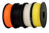 filamento de la impresora del ABS 3D de 1.75/3m m para la impresora de escritorio de Fdm 3D