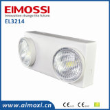 180min LED COB Twinspot Luz de emergencia recargable