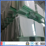 Vidrio de encargo del marco de la foto de la talla de la hoja barato de 1.8m m vario del precio de cristal claro del corte del vidrio
