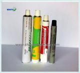 Cosmético que empaqueta el tubo plegable de aluminio del ungüento de la carrocería del cuidado de la mano de la crema dental farmacéutica de la crema