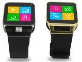 Teléfono elegante del reloj con la tarjeta de la ayuda SIM, llamada de teléfono del G/M, 2 en 1 reloj