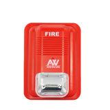 24 볼트 화재 경고 스트로브 빛 경적 스트로브 음향기