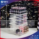 Vente en gros acrylique d'organisateur de rouge à lievres de qualité pourprée