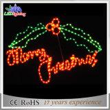 Lumières de lettre du Joyeux Noël DEL de fournisseur d'usine d'éclairage d'Obbo
