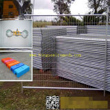358 Anti Climb Security Double Wire Mesh Garden Prisão Temporária Brc Steel Fence