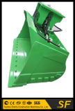 3t - cubetas de lama Digger da inclinação 80ton para as máquinas escavadoras que inclinam cubetas de classificação