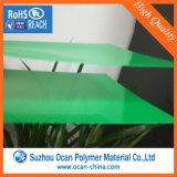 strato di plastica colorato verde rigido del PVC di 0.8mm per il comitato della mobilia