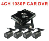 4CH 1080P Car DVR per Bus Security