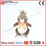 Coelho macio bonito enchido do brinquedo do coelho no Schoolbag