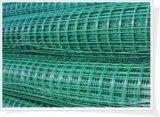 Treillis métallique soudé enduit par PVC (021)