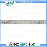 5050 tiras flexibles blancas blancas y calientes ligeras del LED