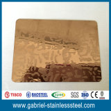 precio inoxidable de 201 de 1.0m m del diamante hojas de acero de la placa