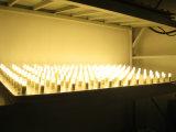 G4 LED 220V Lámpara 24SMD2835 silicona blanco cálido