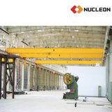 Grúa de arriba de la sola viga estándar del mercado de cambios del nucleón 3 toneladas