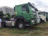371HP 트랙터 & 세트 40 톤 덤프 트레일러 도로