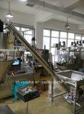 Máquina de enchimento cosmética do eixo helicoidal do pó