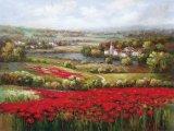 Peinture à l'huile de paysage - 01