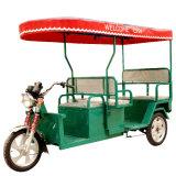 Triciclo elétrico clássico do passageiro