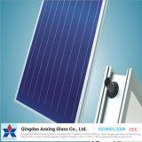 Vidrio solar/fotovoltaico del hierro inferior ultra claro para el agua solar Heate