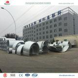 Tubo acanalado durable fuerte del acero inoxidable para la alcantarilla ferroviaria a España