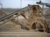 Areia que faz a planta de produção da areia da maquinaria