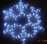 Le flocon de neige de Light de motif effectué par léger mené imperméabilisent