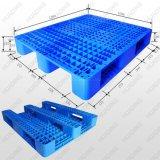 1200*1000*155mm Schwer-Aufgabe 3 Runners Open Plattform Rackable Plastic Pallet