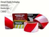 Color rojo y blanco de la cinta de la barrera del PE