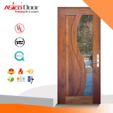 Modèle utilisé par pièce en verre de porte de porte en bois solide bon