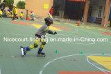 Étage de patinage de rouleau, tuile de patin pour toutes sortes de joueurs, étage intégré de patin, plancher de Futsal, le de quatrième génération de l'étage d'Assemblée de suspension