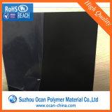 feuille rigide noire épaisse de PVC de 1.5mm Matt